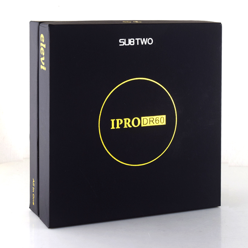 SUB TWO IPRO DR60 TC 60W dry herb mod e-cigarettes 22mm dry herb tank Vaporizer kit herbal Vaporizer vape pen box mod kit newest and hotest product e cig vapor mod god 180s with 220w box mod dry herb smy god 180s mod