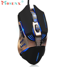 Wired Optical LED Mechanic Gaming Mouse 3200DPI 7Buttons Adjustable Mice For PC Laptop Desktop Drop Shipping Gift 17Aug3 LOL OW