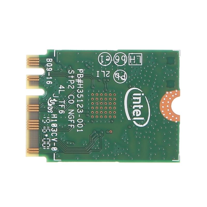 Intel Dual Band Bluetooth Wireless-AC 3165 BT4.0 2.4G/5G 433M Next Generation Form Factor NGW Net Card 3
