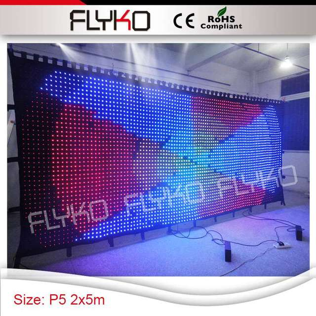 Pixel5 club led light cloth show images promotion aura indoor led ...