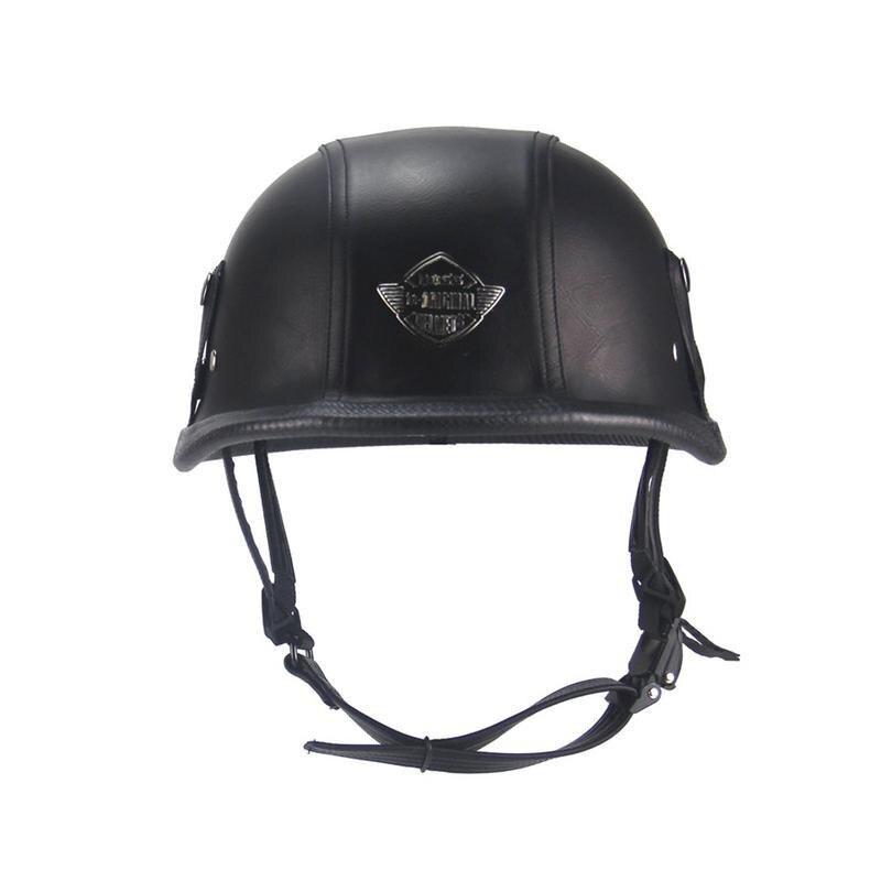 Casques pour moto Retro demi croisière casque Prince casque moto Vintage