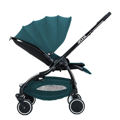 Baby stroller ultra-light luxury baby strollers can sit two-use baby stroller to avoid vibration baby umbrella catrs lightweight strollers aiqi ultra light white frame good quality baby stroller baby umbrellacar boarding stroller accessories