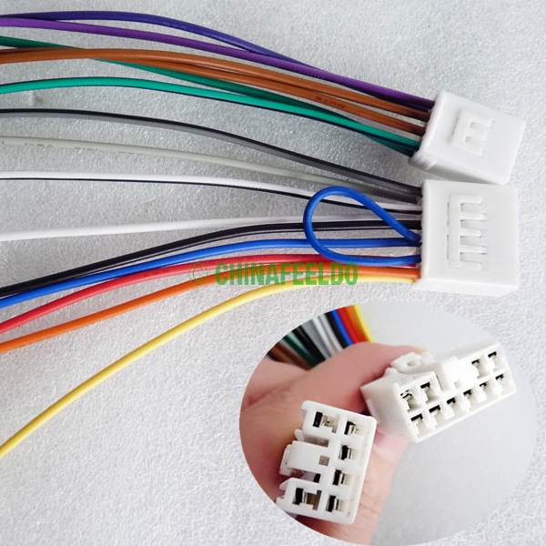 popular toyota radio wiring harness buy cheap toyota radio wiring 1pair car audio stereo wiring harness adapter plug for toyota scion factory oem radio cd