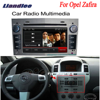 Liandlee 2din Car Android GPS For Opel Zafira 2006~2011 Android navigation navi maps CD DVD palyer radio HD Screen OBD2 TV