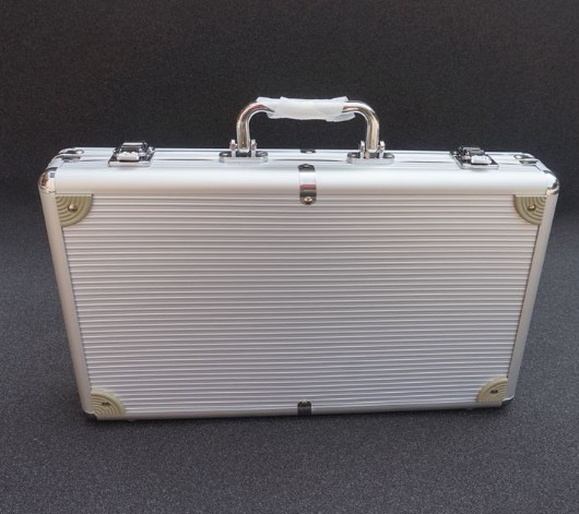 Briefcases Business OL Box Chip Handbag Aluminum Alloy  Hard Roll