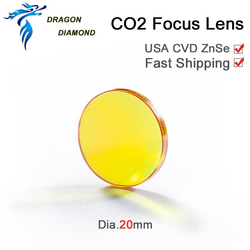 CO2 laser laser USA CVD fookuslääts ZnSe Dia 20mm FL 38,1 mm 50,8 - Mõõtevahendid - Foto 2