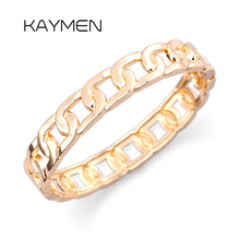 Hot Selling Zinc-alloy Golden Color Chain Charm Bangle Punk Style Fashion Cuff Bracelet for Unisex Pary Jewelry Bijoux BR-03208 цена