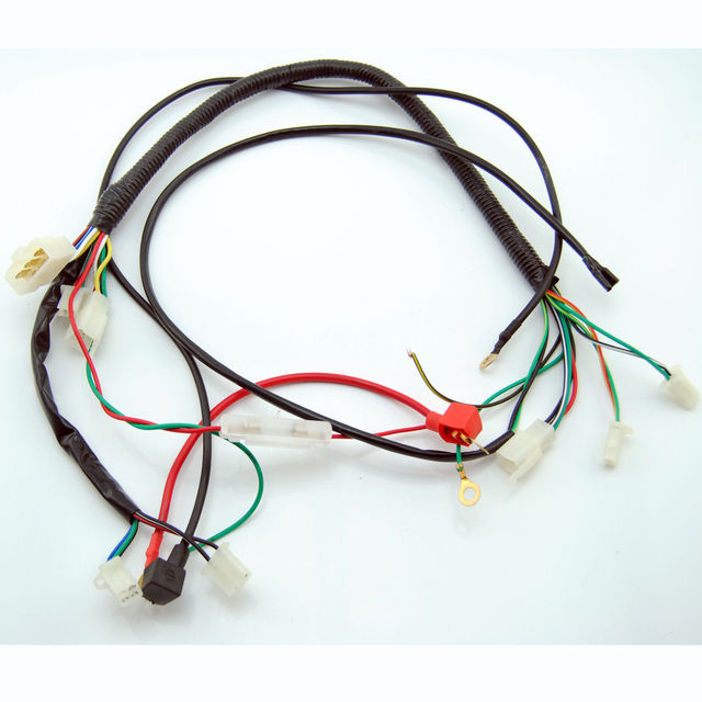 DC YX 150CC 200cc Kick Electric Start Engine Wiring Harness Loom PIT Dirt Bike_640x640 dc yx 150cc 200cc kick& electric start engine wiring harness loom Wiring Harness Diagram at creativeand.co