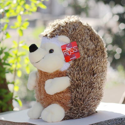Free Shippig plush animal toys kawaii 20 cm lovely hedgehog plush toy doll wedding gift birthday gift