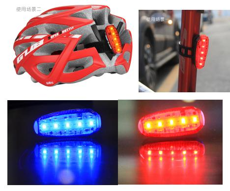 GUB M 26 running light Cycling Light Running Safety Lamp LED Bicycle Bike s with Battery Outdoor Hiking SOS |bike light with battery|cycling light|bike light - title=