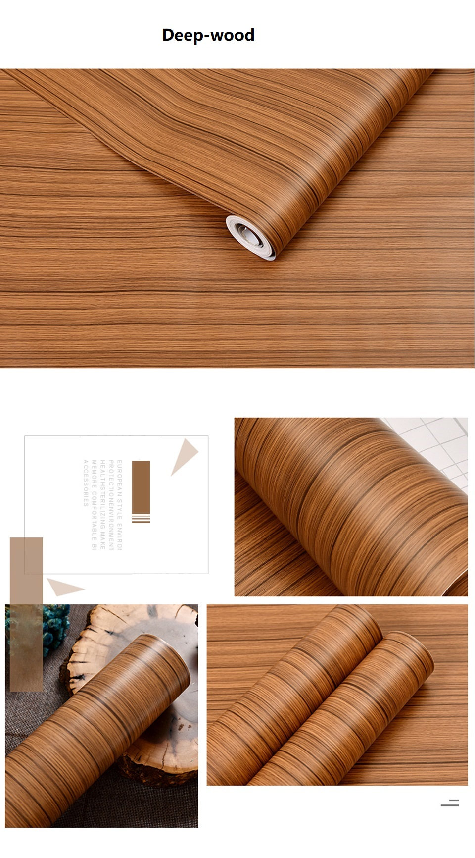 PVC Vinyl Wood Grain Contact Paper for Kitchen Cabinets Table Sticker Waterproof Self adhesive Wallpaper Phone Case Stickers HTB1LG4Zh9CWBuNjy0Fhq6z6EVXaw