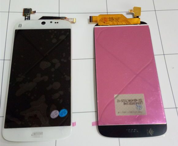 LCD Display Screen +Touch digitizer For Acer Liquid Jade S55  black  Free shipping for acer liquid jade s55 lcd screen with