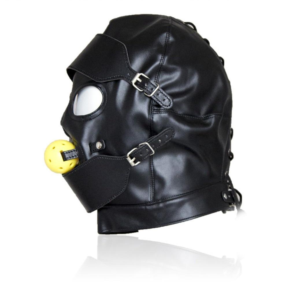 Секс маска из кожи видео