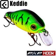 KIDDIE Fishing Lures 5 Shade Crank Lures 8g-0.29oz6cm-2.4″ Fishing Baits 10# Black fishing sort out Bass