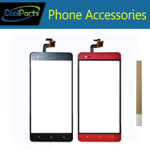 1PC/Lot 5.5'' For Prestigio Grace R5 LTE <font><b>PSP5552Duo</b></font> PSP5552 Touch Screen Digitizer Panel Lens Glass With Tape Black Red Color image