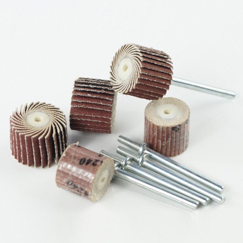 10/12/15/20mm Impeller Polishing Tools Sandpaper Grinding Polishing Wheel Abrasive Tools