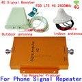 1 Conjunto de 65dB Móvel LTE Repetidor 4G amplificador de Sinal De Reforço 2600 MHZ Telefone Celular Amplificador 3g 4g Sinal de telefone celular Móvel booster