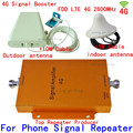 1 Unidades LTE Repetidor Amplificador de Señal Móvil 4G amplificador de 65dB 2600 MHZ Teléfono Celular Amplificador de 3g 4g teléfono celular amplificador de Señal Móvil booster