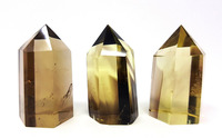 Smokey Citrine Quartz Crystal Tower Point / Perfect Natural Stone for Crystal Healing, Reiki, and Crystal Grids