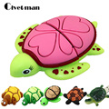 USB Flash Drive Tortoise Pen Drive 4GB 8GB 16GB 32GB 64GB 128GB Cartoon Animal Turtle USB Flash Pendrive Memory Stick Disk Gifts