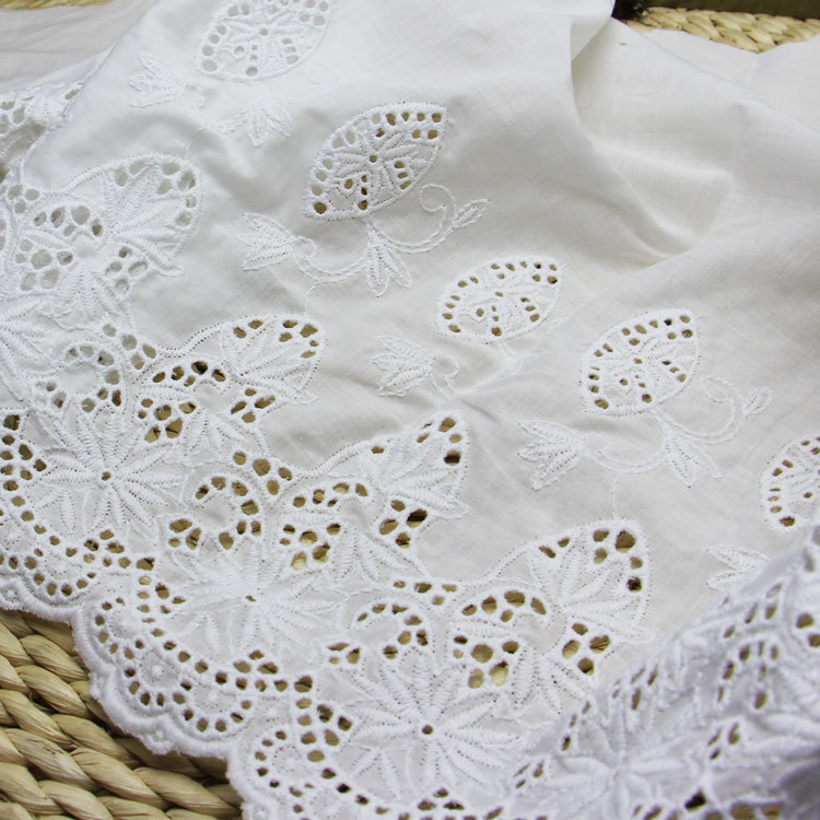 Online buy wholesale broderie anglaise from china broderie for Decoration anglaise