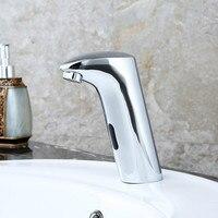 Copper Faucet Automatic Faucet DC Leading Intelligent Sensor Single Tap