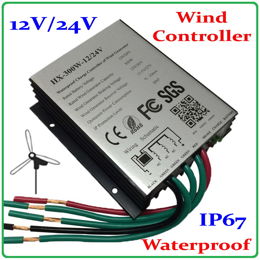 300W wind turbine generator charge controller 12V 24V auto-work for 0-600W wind generator 400W 500W controller regulator also ok wind power generator 400w for land and marine 12v 24v wind turbine wind controller 600w off grid pure sine wave inverter