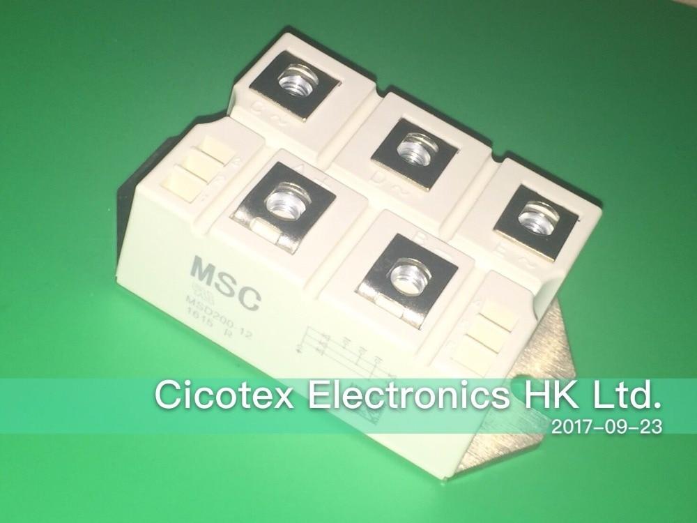 MSD200-12 MODULE IGBT 200A 1200V f4 100r06kl4 module igbt 1200v 100a