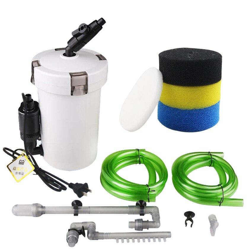 Sunsun Filtro de acuario ultra-silencioso externo de acuario filtro Cubo de 110 V-220 V/6 W/HW-602 /HW-603/HW-602B/HW-603B