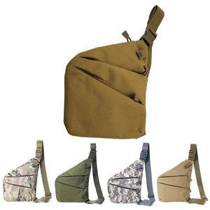 Hot Sellers Brand Men Travel Business Fino Bag Burglarproof Shoulder Bag Holster Anti Theft Security Strap Digital Storage Chest Bags