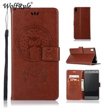 WolfRule For Cover Sony Xperia XA Ultra Case Flip Leather Wallet Case for Sony Xperia XA Ultra/C6 Phone Bag For SONY XA Ultra чехол для сотового телефона muvit mfx folio case для sony xperia xa ultra seeaf0046 черный