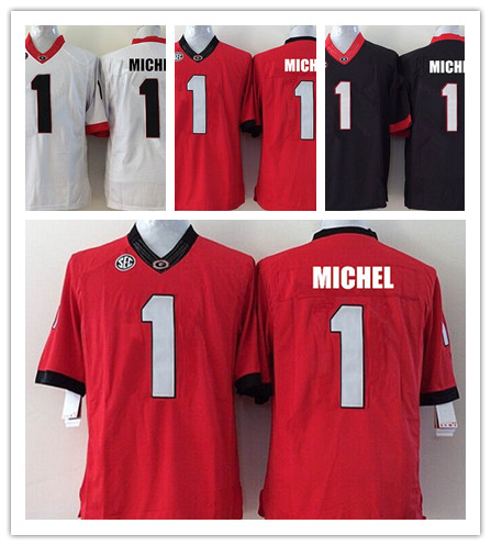 white sony michel jersey