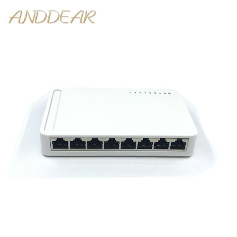 OEM New model 8 Port Gigabit Switch Desktop RJ45 Ethernet Switch 10 100 1000mbps Lan Hub switch 8 portas