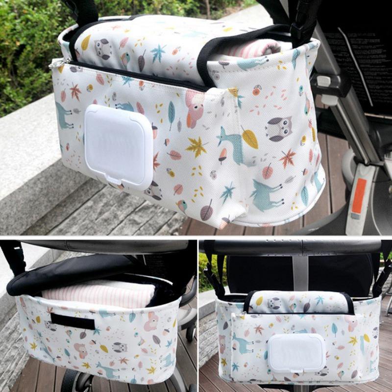 Bag Nappy Bags For Cup Food Best Selling Baby Stroller Storage Bag Waterproof Mummy Diaper Bag New Hook Baby Carriage Hanging