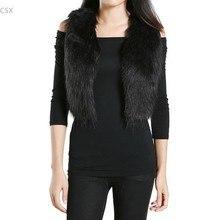 2014 New Autumn And Winter Fur Vest Sleeveless Sweater Waistcoat Short Design Women's Faux Fur Vest Women Coat 50