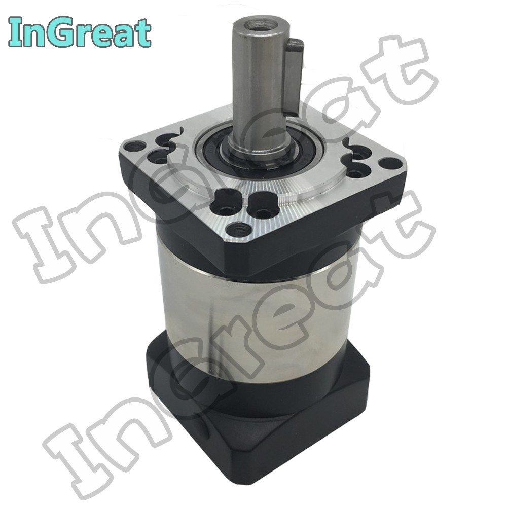 NEMA24 Planetary Gearbox 10 1 High Precision Backlash 14mm Shaft Gearbox Reducer for NEMA24 60mm 200W