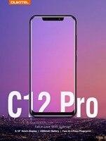 Original Oukitel C12 Pro Android 8.1 4G SmartPhone 6.18Inch 2.5D IPS MT6739 Quad Core 2GB RAM 16GB ROM 8MP Touch ID 3300mAh FOTA