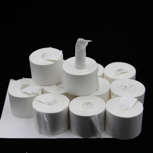 Mouth Coil paper (white),12 pcs/pack 19 meters,Top-quality, Vomit Paper - Magic trick, close-up,street magic,Accessories G8215