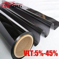 High quality 99% UV solar control window film car tint Window Solar Film 1.52m*12m/Roll by free shipping BK20 model