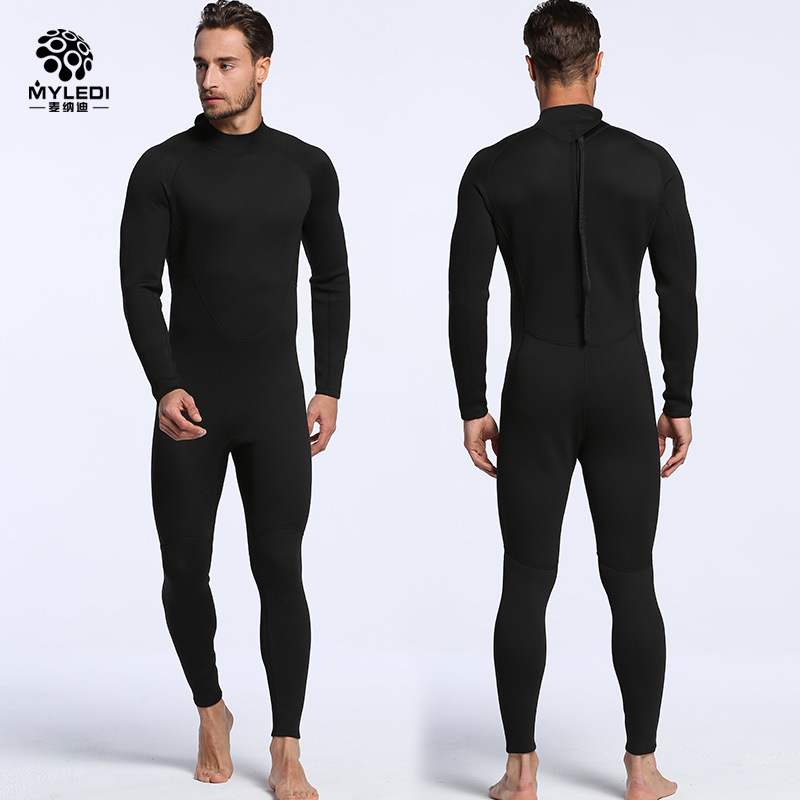6c29f926c2 Men women Diving Suits 2mm Neoprene Wetsuits Full Suit For Scuba Diving  Snorkeling Coldproof Waterproof Wetsuits Rash Guards-in Wetsuit from Sports  ...