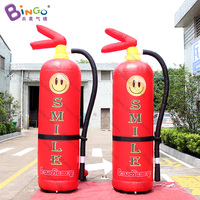 Customized inflatable Fire extinguisher model 3m tall for event advertising inflatable toy