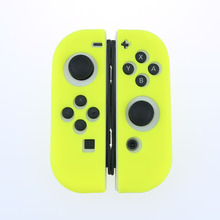 Green Silicone Case For NS Switch Cover Joycon Case Soft Controller Shell Console Protective Controller Grip Joy-con Cover edt silicon controller cover protective case for ps3 blue black cover