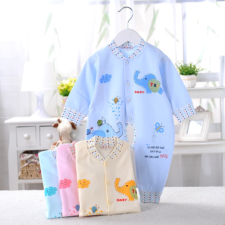 Baby Rompers Clothes 2017 Brand New 100% Cotton Newborn Coveralls Cartoon Printing Spring Romper Baby Clothes Roupas Bebes cotton baby rompers set newborn clothes baby clothing boys girls cartoon jumpsuits long sleeve overalls coveralls autumn winter