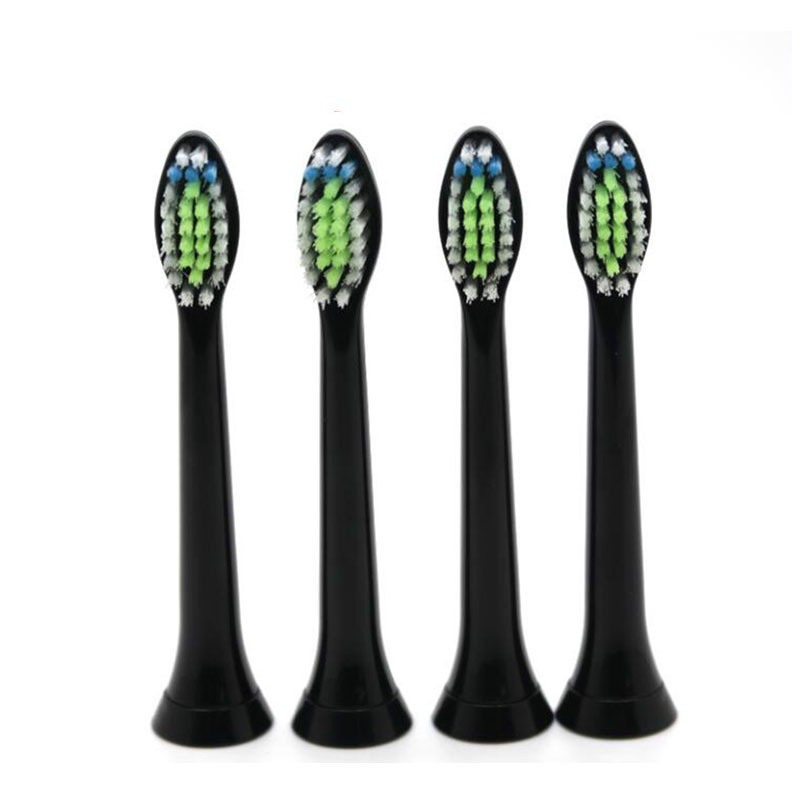 4pcs/lot Replacement Toothbrush Heads For Philips Sonicare DiamondClean HydroClean Black HX6064 Electric Tooth Brush Heads image