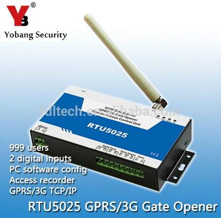 Yobang sécurité automatique porte ouvre-porte 3G GSM sans fil relais commutateur accès télécommande porte serrure par appel téléphonique gratuit