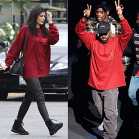 Yeezy 12th Season 3 T Shirt Men Hip Hop Yeezy Boost 350 Short Sleeved Red T