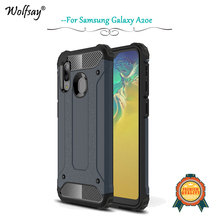 For Samsung Galaxy A20e Case Shockproof Armor Rubber Hard Phone Back Cover Fundas