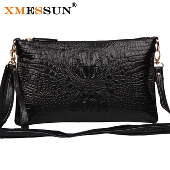 XMESSUN Brand 2018 Genuine Leather Handbags Vintage Women's Leather Handbags Clutches Messenger Bags Designer Crossbody Bag M31