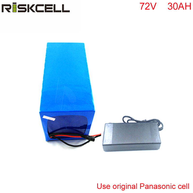 70v 30ah lithium ion battery DIY 70V 3000w electric bike battery  for Electric scooters with charger with Use Panasonic cell 30a 3s polymer lithium battery cell charger protection board pcb 18650 li ion lithium battery charging module 12 8 16v