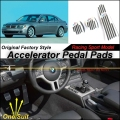 Car Accelerator Pedal Pad / Cover of Original Factory Sport Racing Model Design For BMW 7 Series E65 2001~2008 Tuning